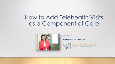 How to Add Telehealth Visits as a Component of Care